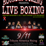 Live Boxing at the Palm Bay Community Center Sept 9th Hosted by Round13 Boxing
