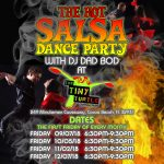 Hot Salsa Dance Party with DJ DAD BOD Starting September 7th at The Tiny Turtle