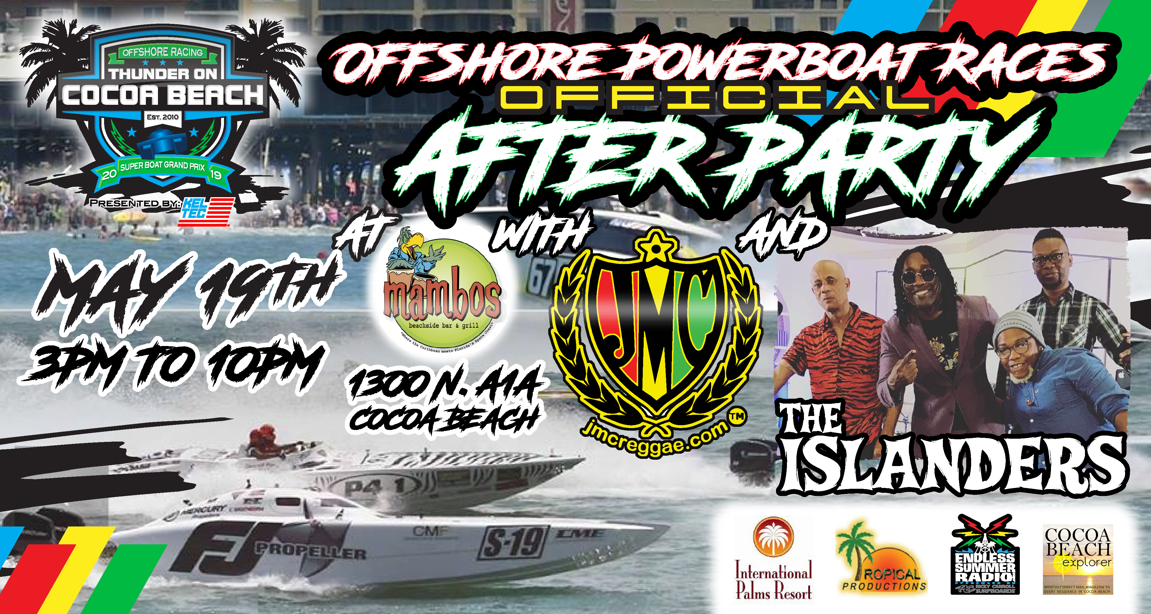 Offshore Powerboat Races Official After Party w/ Islanders