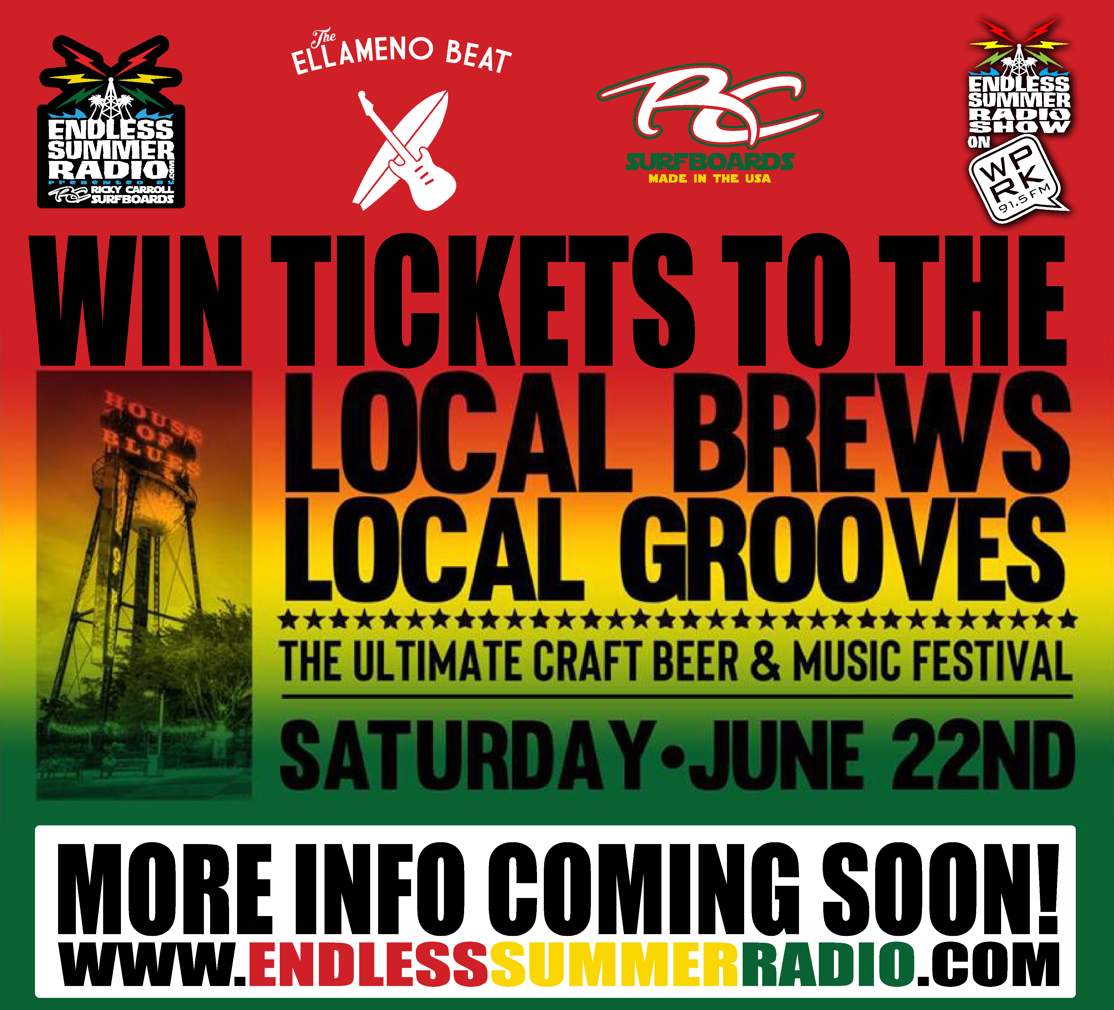 WIN TICKETS to the Local Brews Local Grooves: The Ultimate Craft Beer and Music Event