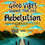 July 28th - Rebelution - The Good Vibes Summer Tour 2017 – Cocoa