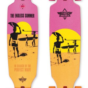 "ENDLESS SUMMER ""WAKE"" LONGBOARD SKATEBOARD"