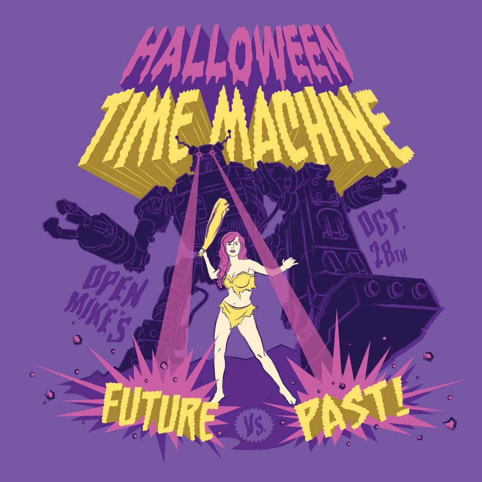 "Oct 28th > Halloween Time Machine ""Future Vs. Past"""