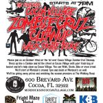 1st EVER Zombie Cruz / Cleanup in Cocoa Village