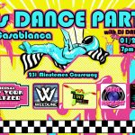 80s Dance Party at Casablanca Jan 20th - Dance Cocoa Beach Dance