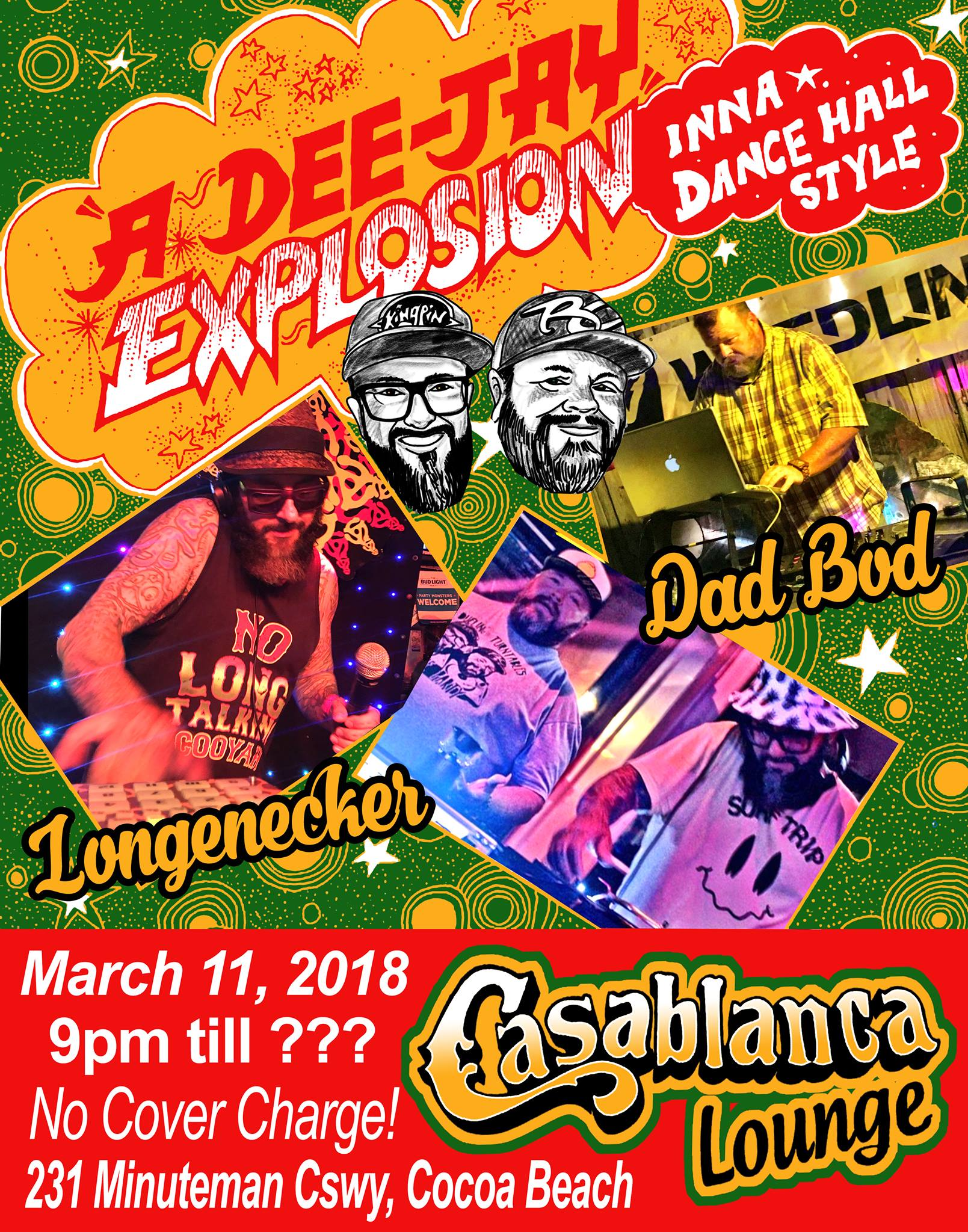 A Dee-Jay Explosion at Casablanca March 11th - After Party at Casablanca