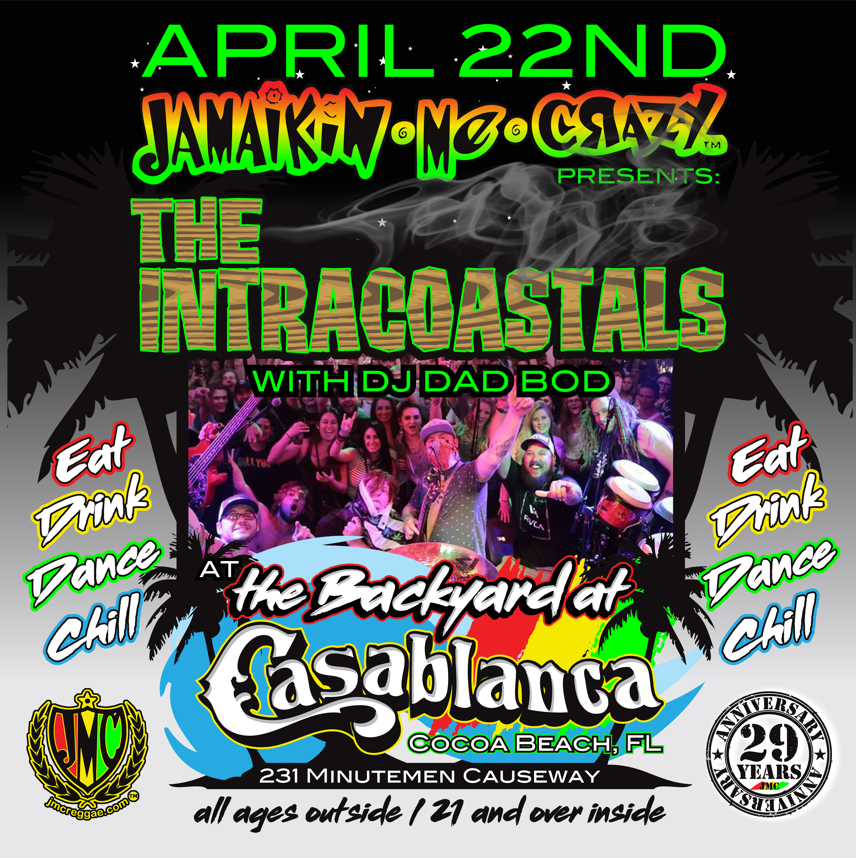 JMC presents: The Intracoastals at Casablanca April 22